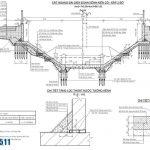 Bản vẽ thiết kế móng cừ tràm công trình kiên cố hóa kênh rạch