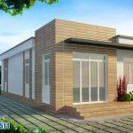Cách tính chi phí xây nhà cấp 4 diện tích 4×16, 1 trệt 1 lầu giá rẻ
